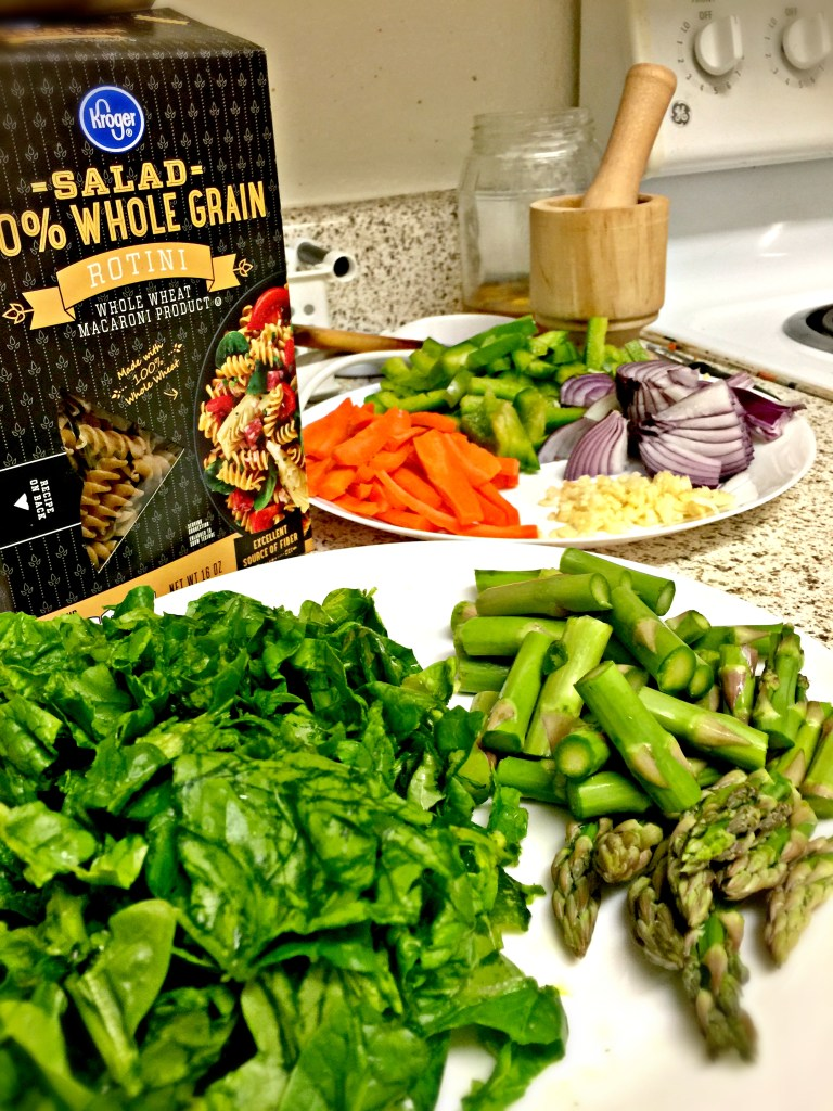 Letters to Future Self [#1]: Comfort Zone   Date with Asparagus Ingredients