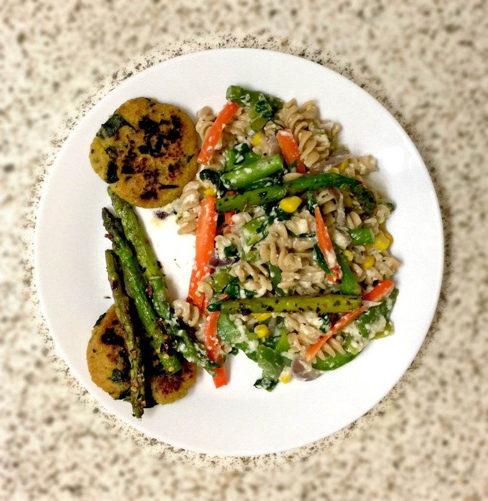 Letters to Future Self [#1]: Comfort Zone   Date with Asparagus final_pasta