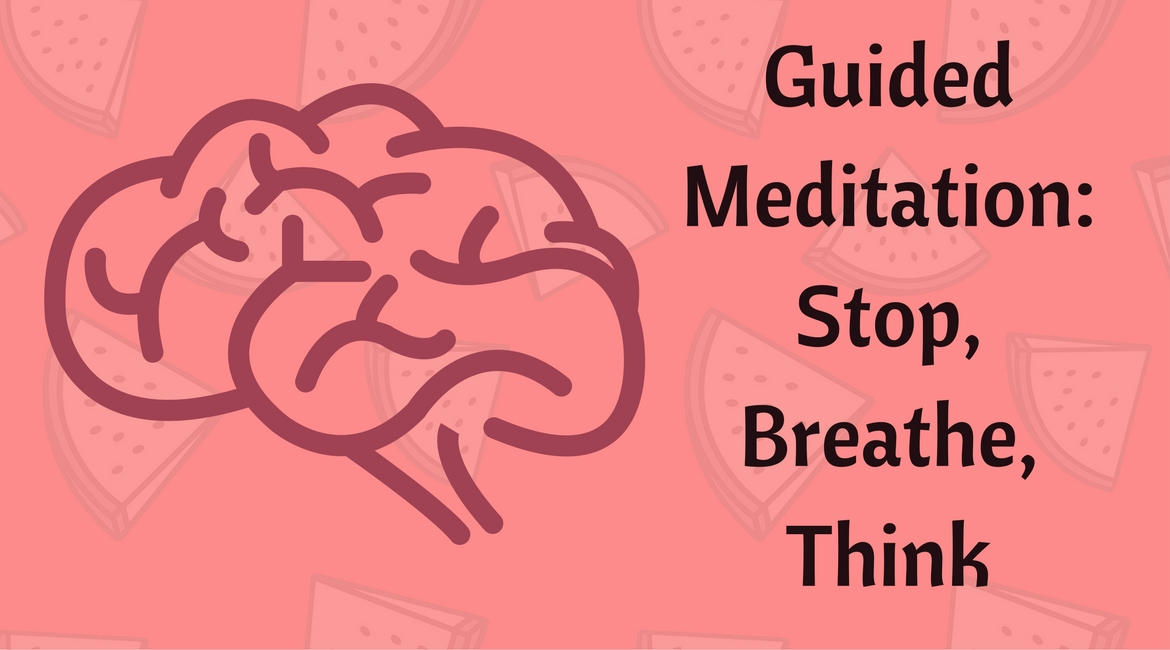 Guided Meditation Stop Breathe Think App