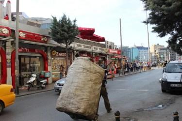 Straßenszene Istanbul