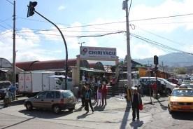 Großer Markt im Süden Quitos