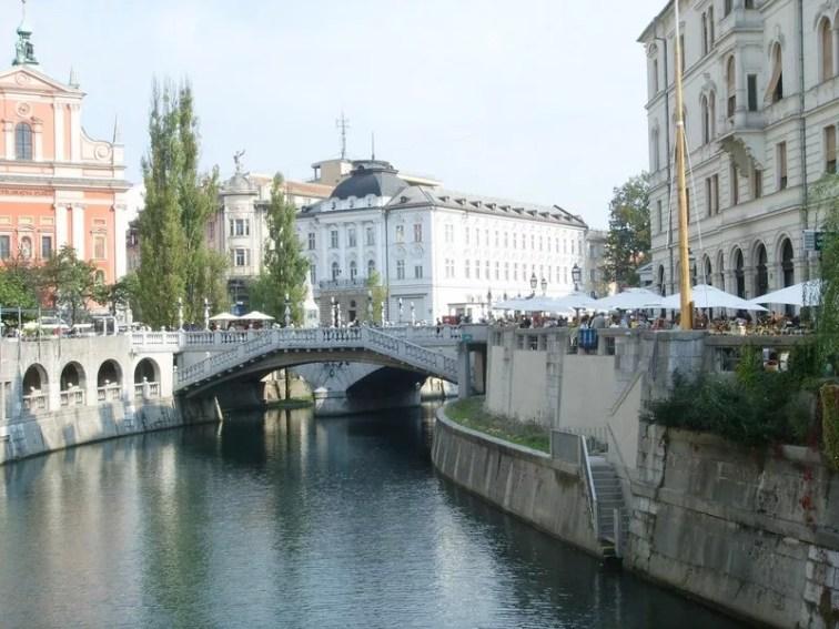 Ljubljana Spaziergang