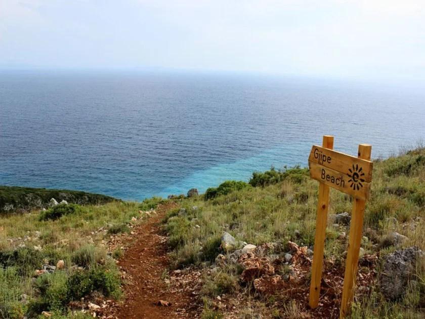 gjipe beach albanien