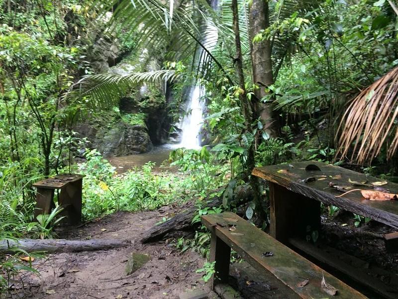 Hoteltipp Salento Kolumbien Wasserfall