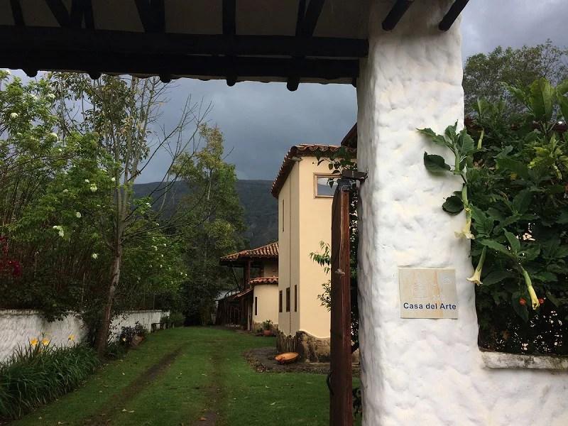 Casa del Arte Eingang