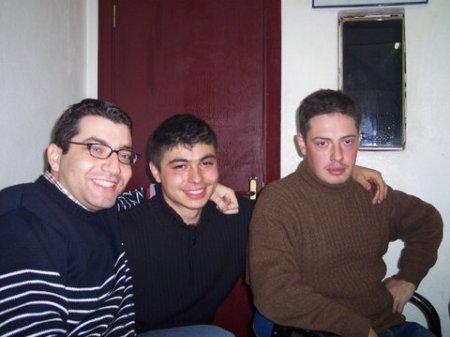 Soldan sağa:Ben - Mali - Yavuz