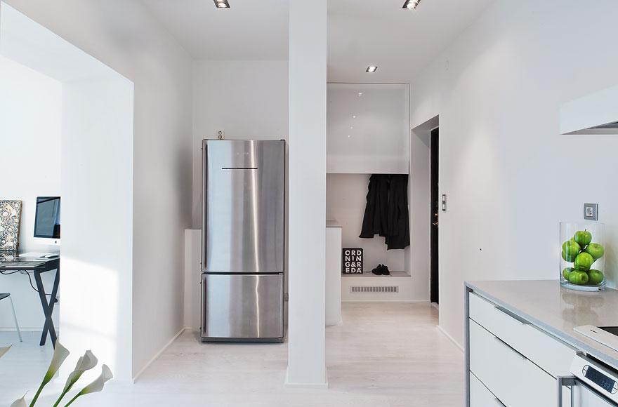 un piso de 53 m2 minimalista sin puertas blog tienda