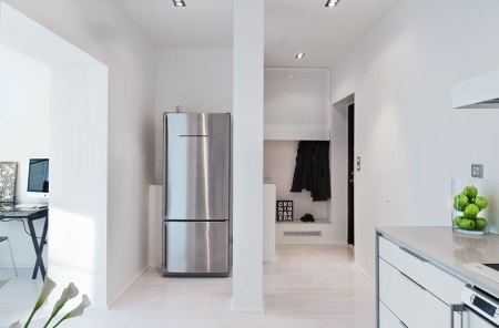 muebles de diseño estilo nórdico más minimalista y funcional estilo nórdico estilo decoración minimalista estilo decoración masculino electrodomésticos gaggenau diseño de interiores diáfano sin puertas decoración pisos pequeños decoración de interiores cocina moderna cocina blanca baños de diseño