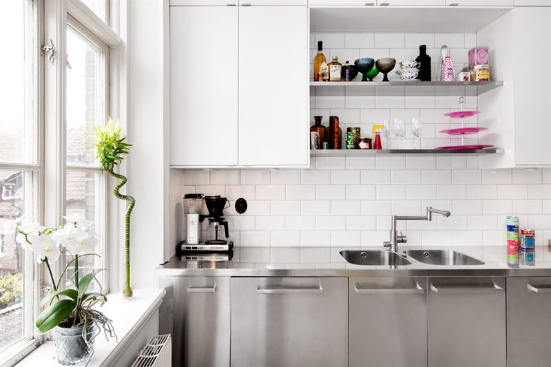Cocina industrial y suelo de cemento blog tienda for Cocinas de cemento