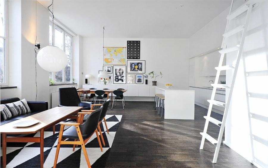 Un piso con techos altos y decorado con mucho estilo - Blog tienda ...