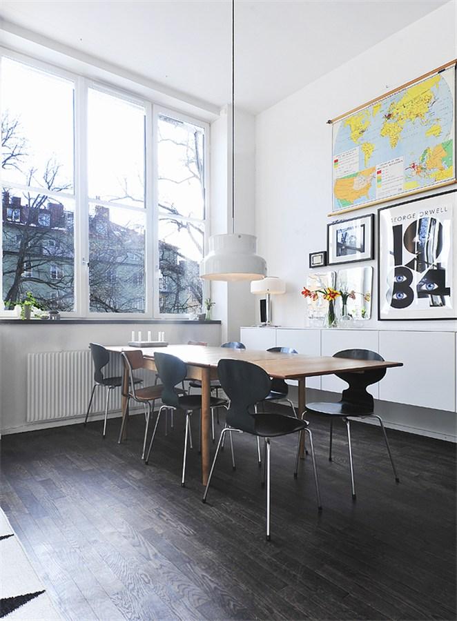 Un piso con techos altos y decorado con mucho estilo - Blog ...