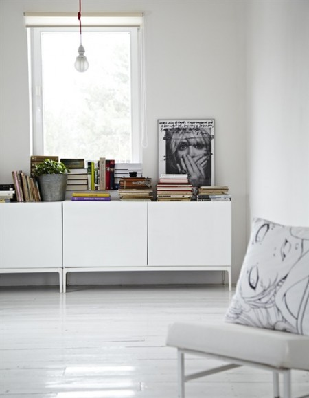 Decoraci n minimalista y ordenada blog tienda decoraci n - Alfombra vaca ikea ...