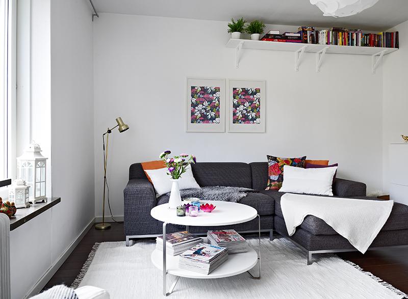 47 5 m de decoraci n n rdica fresca y sencilla blog for Decoracion piso 35 m
