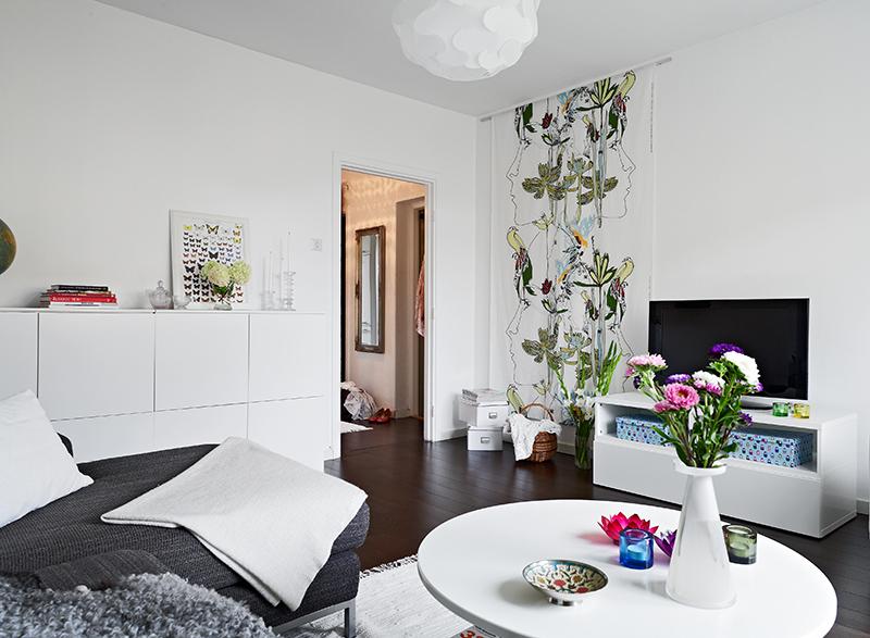 47 5 m de decoraci n n rdica fresca y sencilla blog - Ideas para pintar un salon pequeno ...