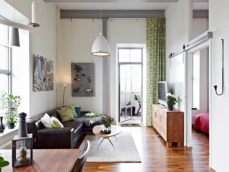 Como aprovechar el espacio en un piso de techos altos   blog ...