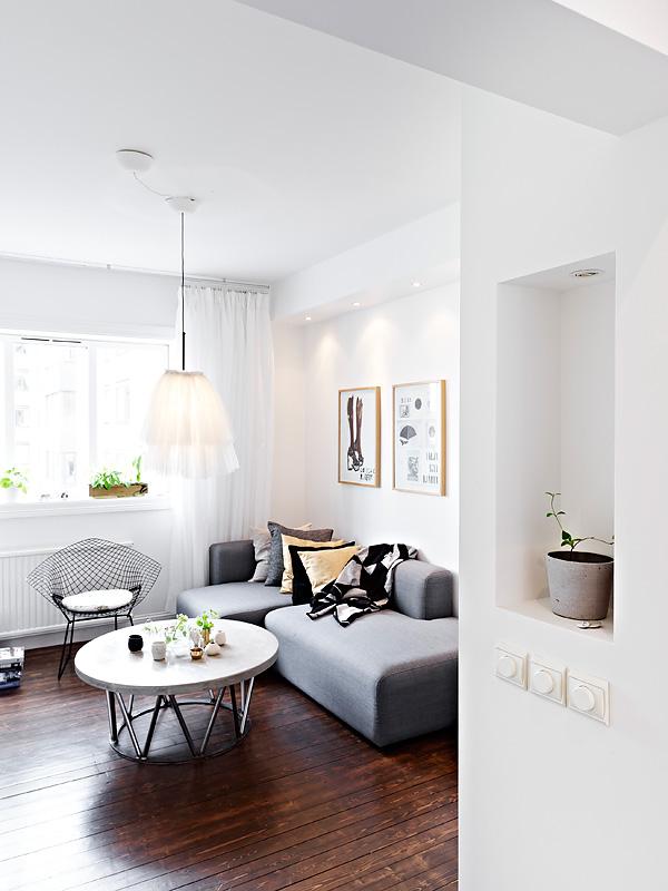 Super mini piso de 36m blog decoraci n estilo n rdico - Interiorismo pisos pequenos ...