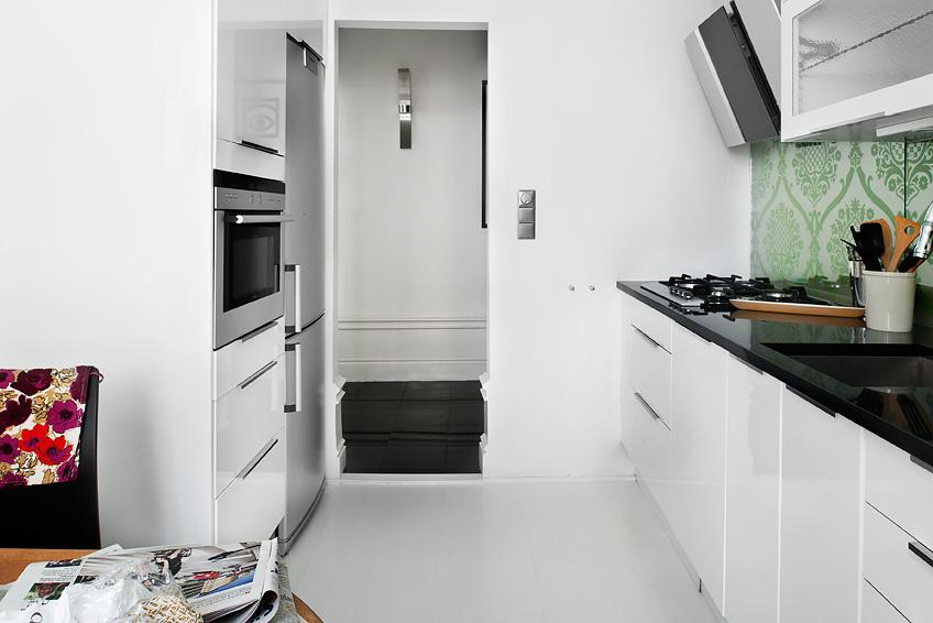 una bonita cocina blanca en un piso de 39 m blog On baldosas blancas baratas
