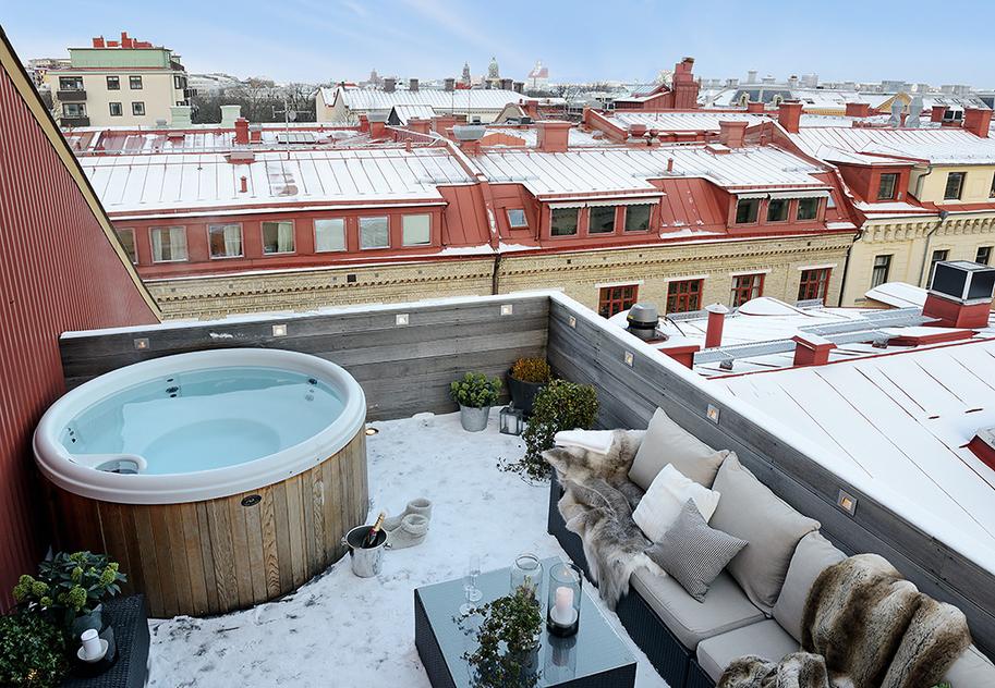 Decoraci n n rdica comodidad confort y ocio blog - Jardines en la terraza ...