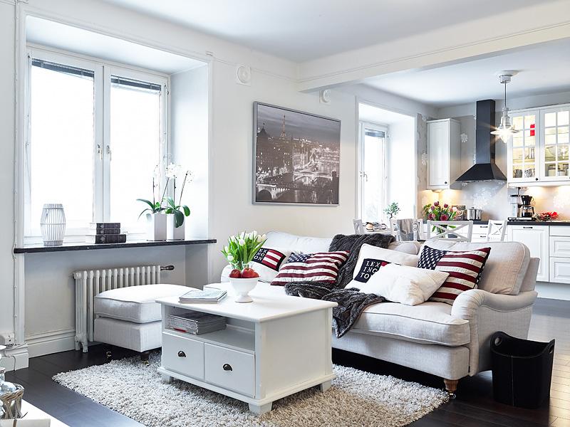 Estilo n rdico con aire de hamptons blog tienda for Muebles suecos