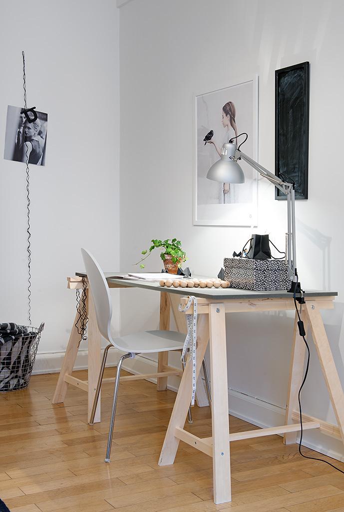 Mini piso de 40 m de estilo escandinavo blog tienda - Ikea piso 50 metros ...