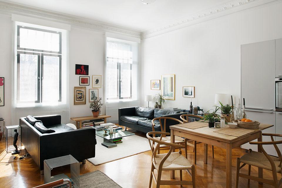 Un piso n rdico con mucho estilo y di fano blog tienda - Piso estilo nordico ...