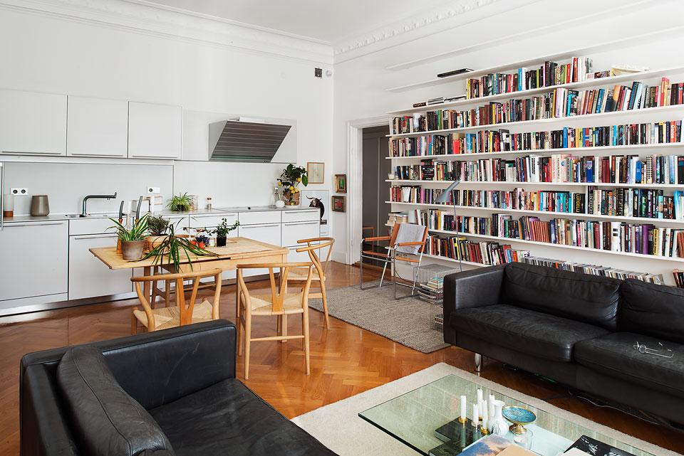 Un piso nórdico con mucho estilo y diáfano   blog decoración ...