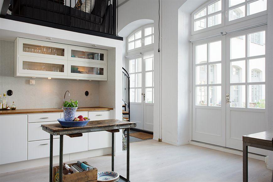 Loft de 67 m de estilo n rdico industrial blog tienda - Loft decoracion interiores ...