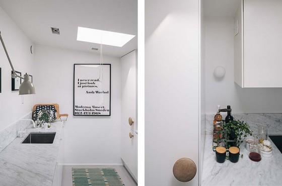 Mármol de Carrara decoración interiorismo inspiración muebles de ikea estilo nórdico escandinavo decoración decoración exterior nórdica escandinava decoración en blanco cocinas blancas modernas blog decoración nórdica ático decoración nórdica