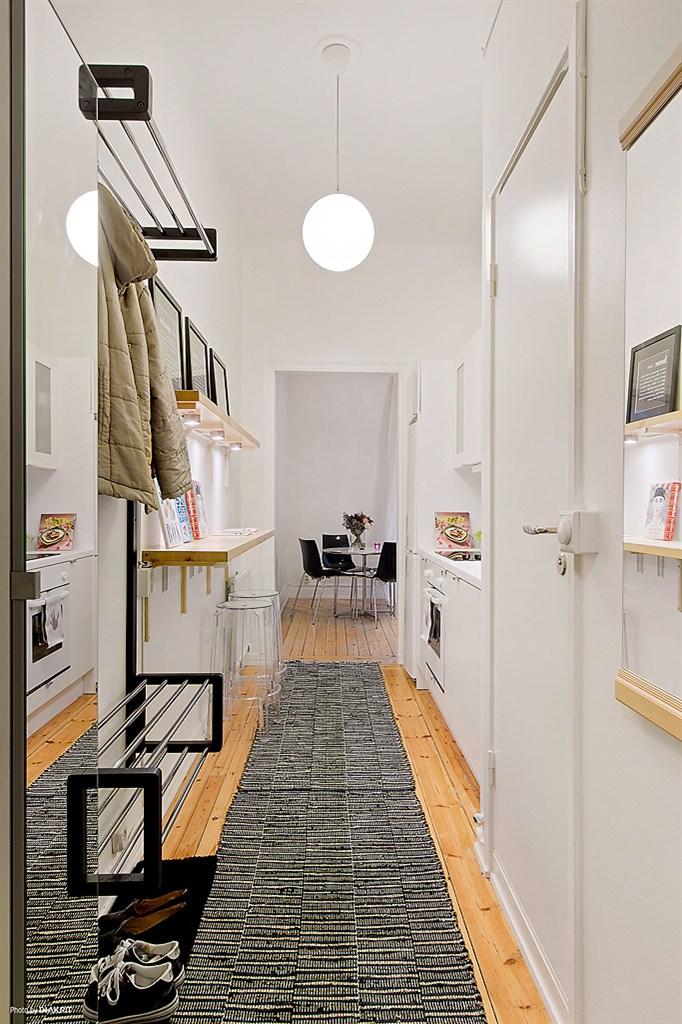 Aprovechar el espacio al máximo: la cocina en el pasillo - Blog ...