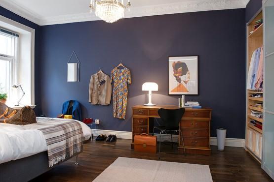 papel de pared de cuadros muebles de diseño fritz hansen marrones azules decoración paredes estilo escandinavo con color decoración estilo americano cuarto de baño mosaico negro blog diseño decoración interiores blog decoración nordica escandinava