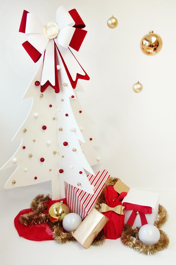 estilo nrdico escandinavo diy nochebuena navidad diy mini arboles de navidad diy deco navidad diy adornos