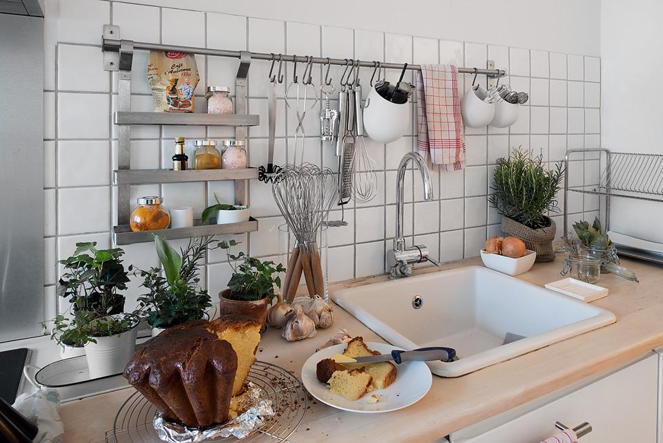 Cocinas blancas, pequeñas y modernas - Blog tienda decoración estilo ...