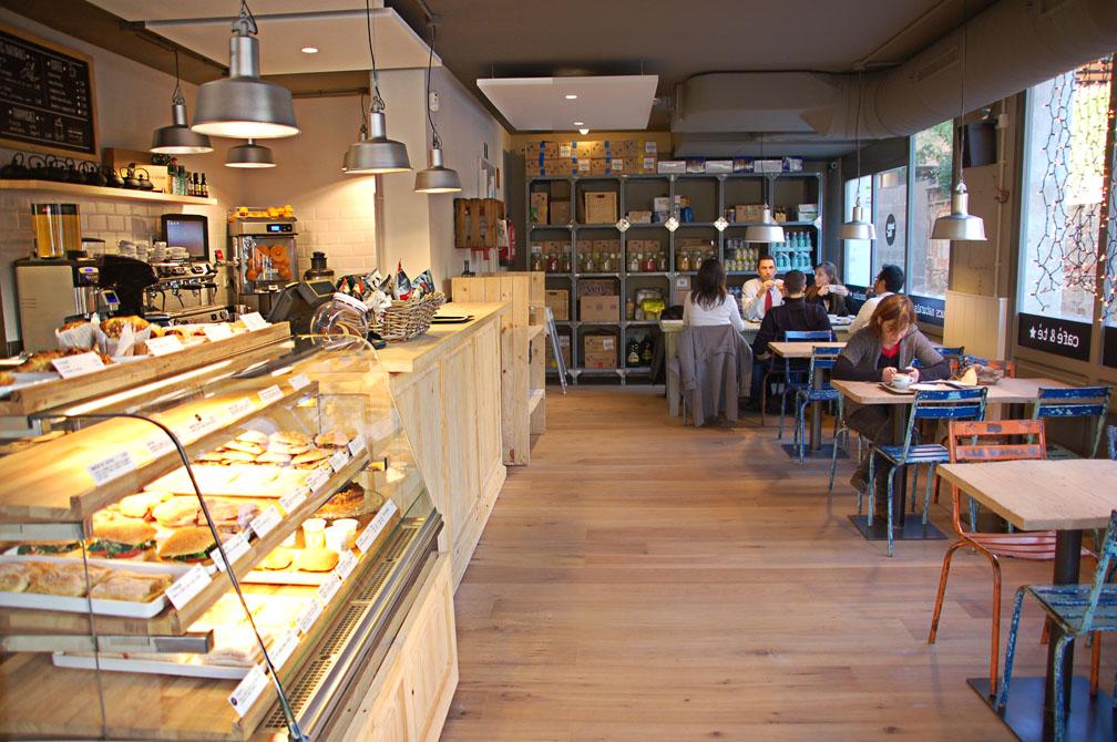 Estilos de decoracion para cafeterias for Muebles para restaurantes y cafeterias