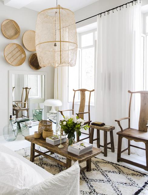 Estilo n rdico en un mini piso en lyon francia blog - Decoracion etnica salones ...