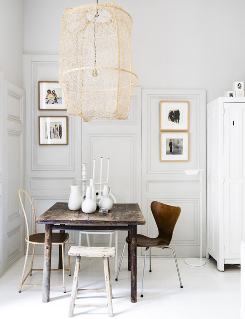 Estilo nórdico en un mini piso en lyon   francia   blog decoración ...