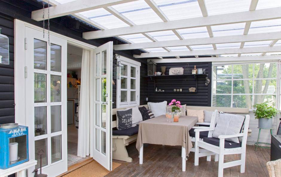 porches nrdicos la casa de la abuela danesa interiores de madera estilo nrdico campestre decoracin en