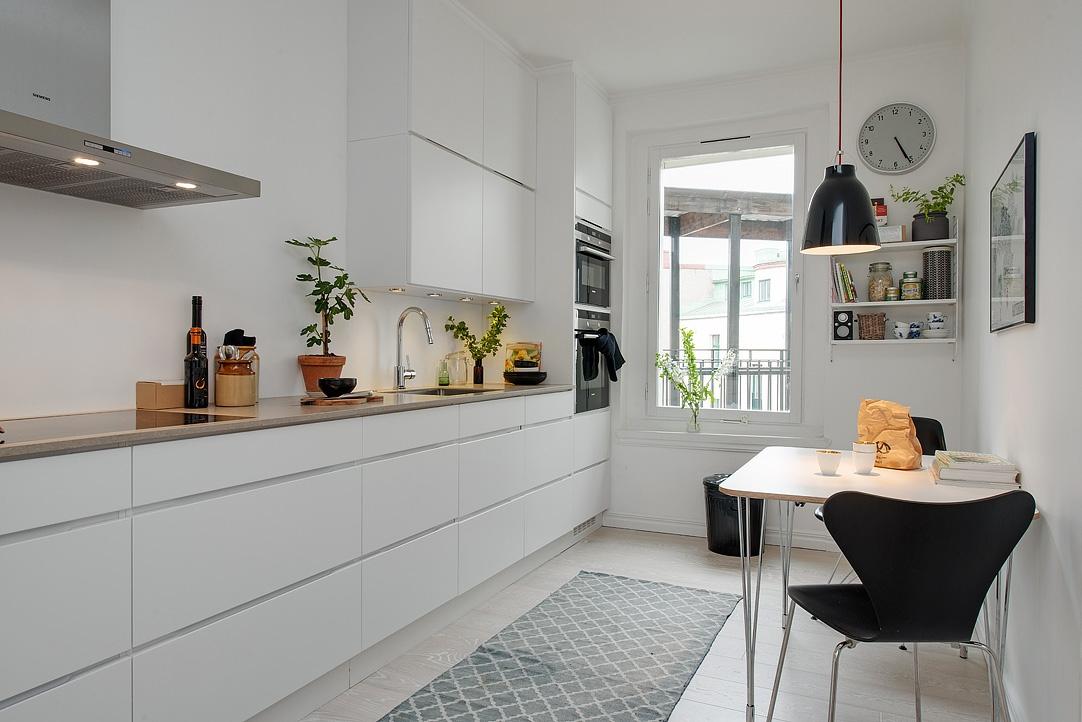 Gris y blanco siempre un acierto blog tienda decoraci n for Cocina y lavadero integrados