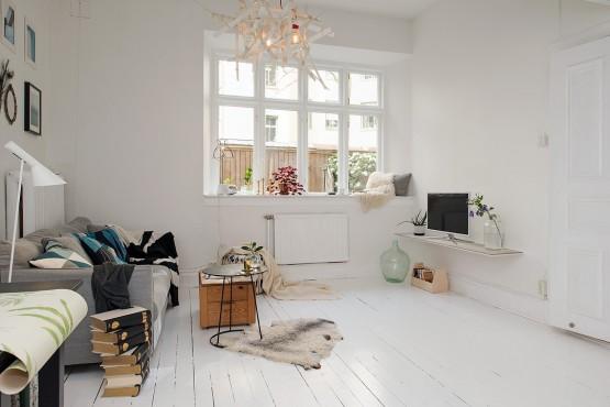 interiores espacios pequeños estilo nórdico escandinavo dormitorio en altillo distribución piso ingeniosa decoración pisos pequeños decoración nórdica cocinas pequeñas nórdicas blog decoración nórdica