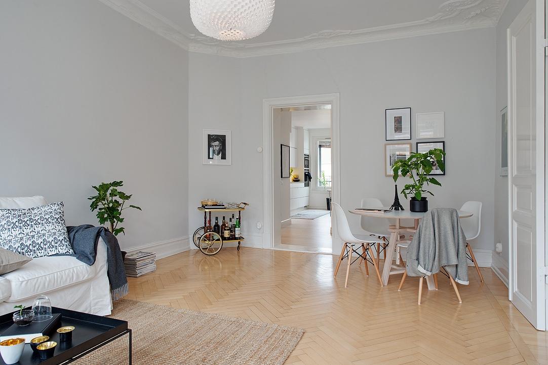 Gris y blanco siempre un acierto blog tienda decoraci n for Decoracion para minidepartamentos