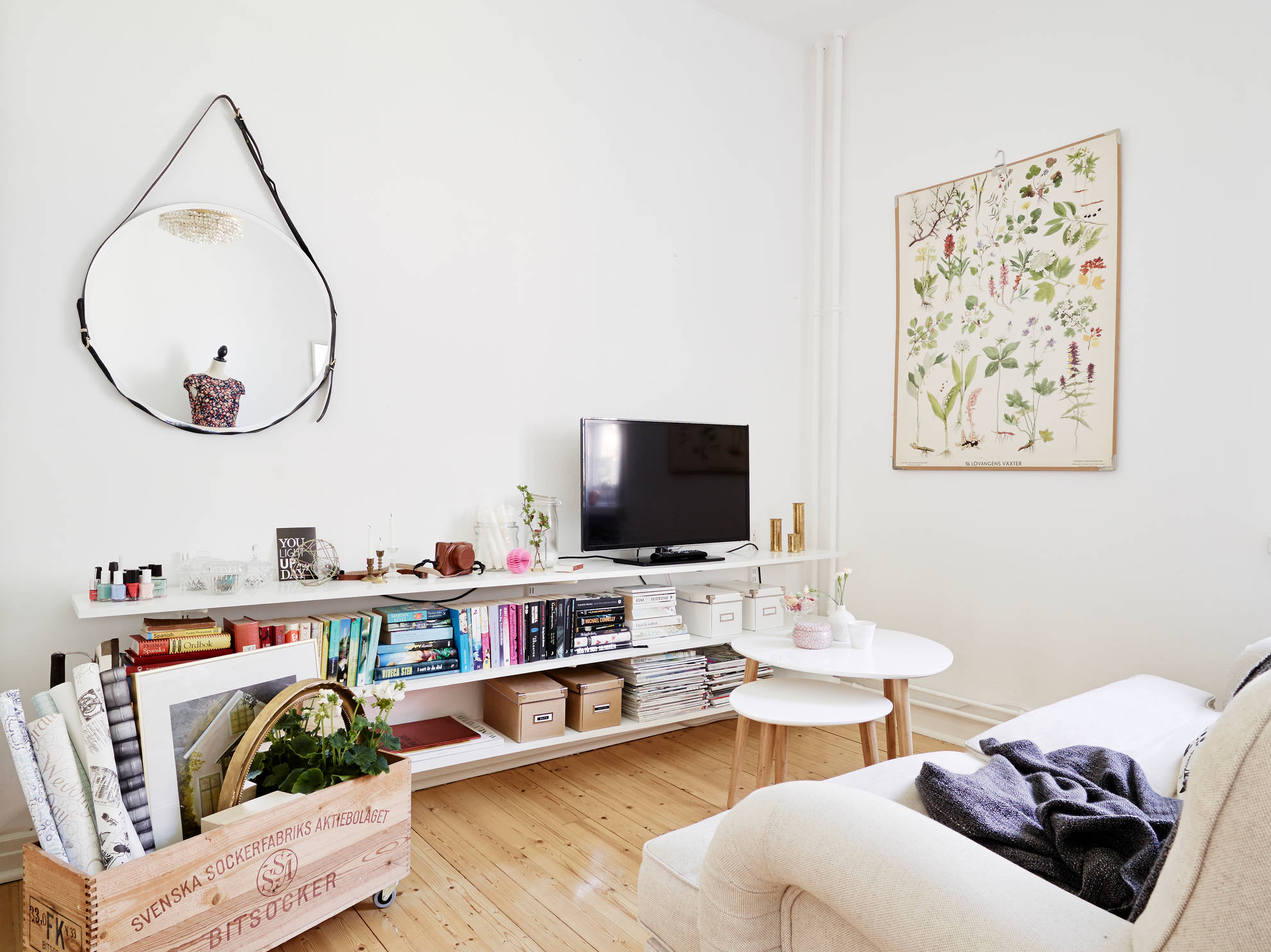 Mini piso con mucho encanto blog tienda decoraci n for Decoracion con encanto