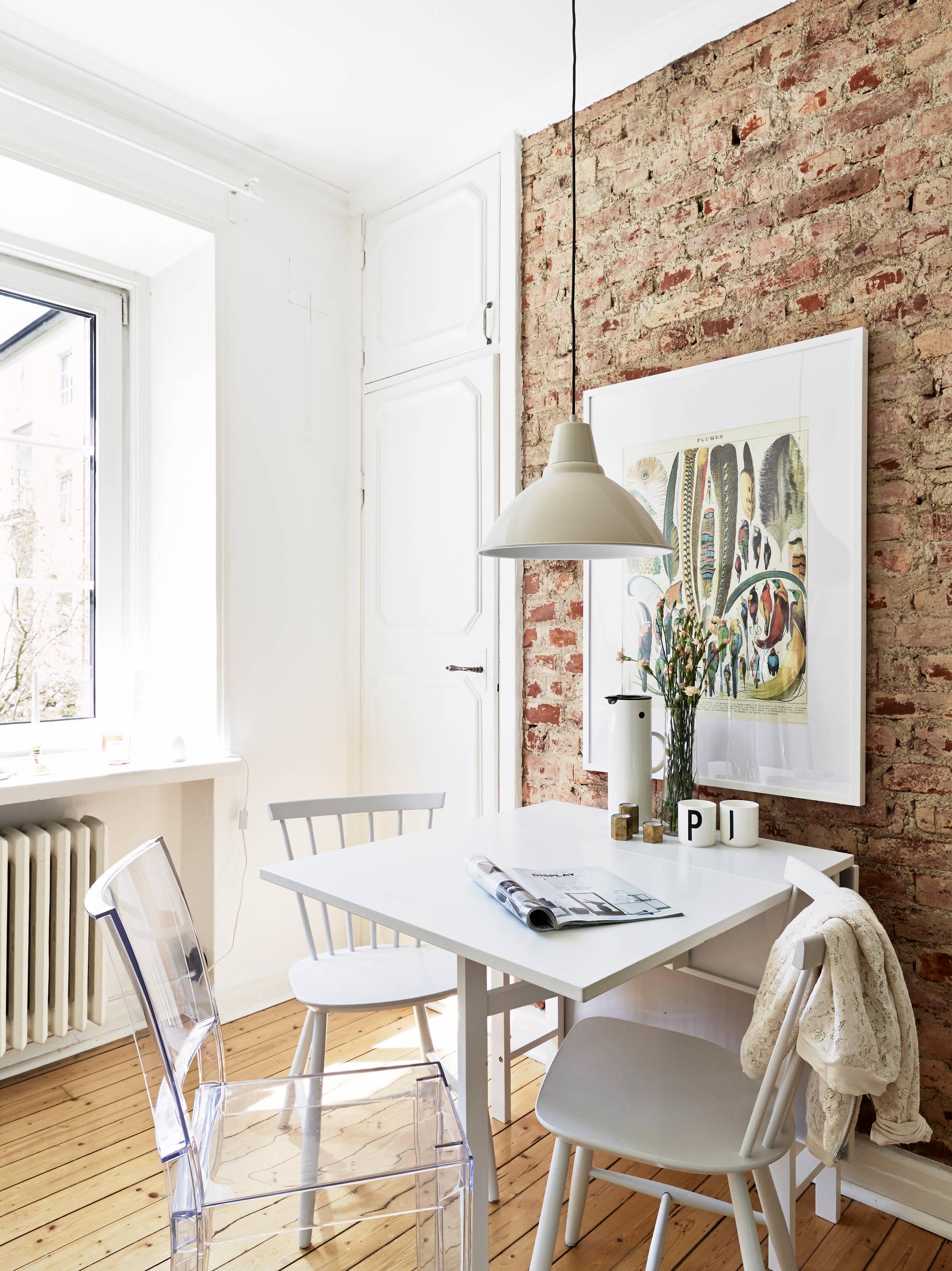 Mini piso con mucho encanto blog tienda decoraci n - Piso estilo nordico ...