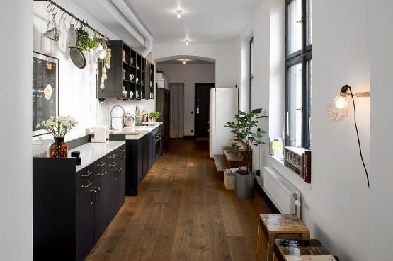 cocinas alargadas rectangulares - delikatissen - Blog tienda ...