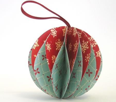 Adornos navideos origami Blog tienda decoracin estilo nrdico