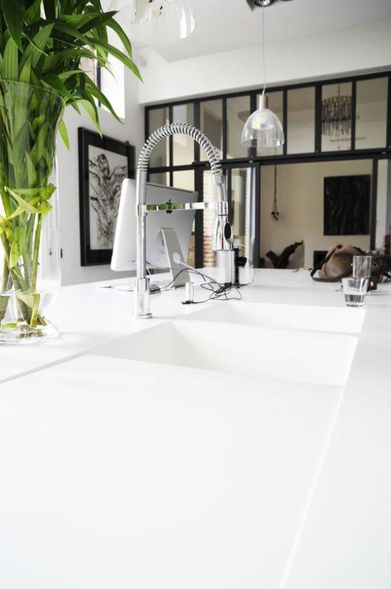 Sofisticada vivienda en un antiguo caf belga blog - Interiorismo salones modernos ...