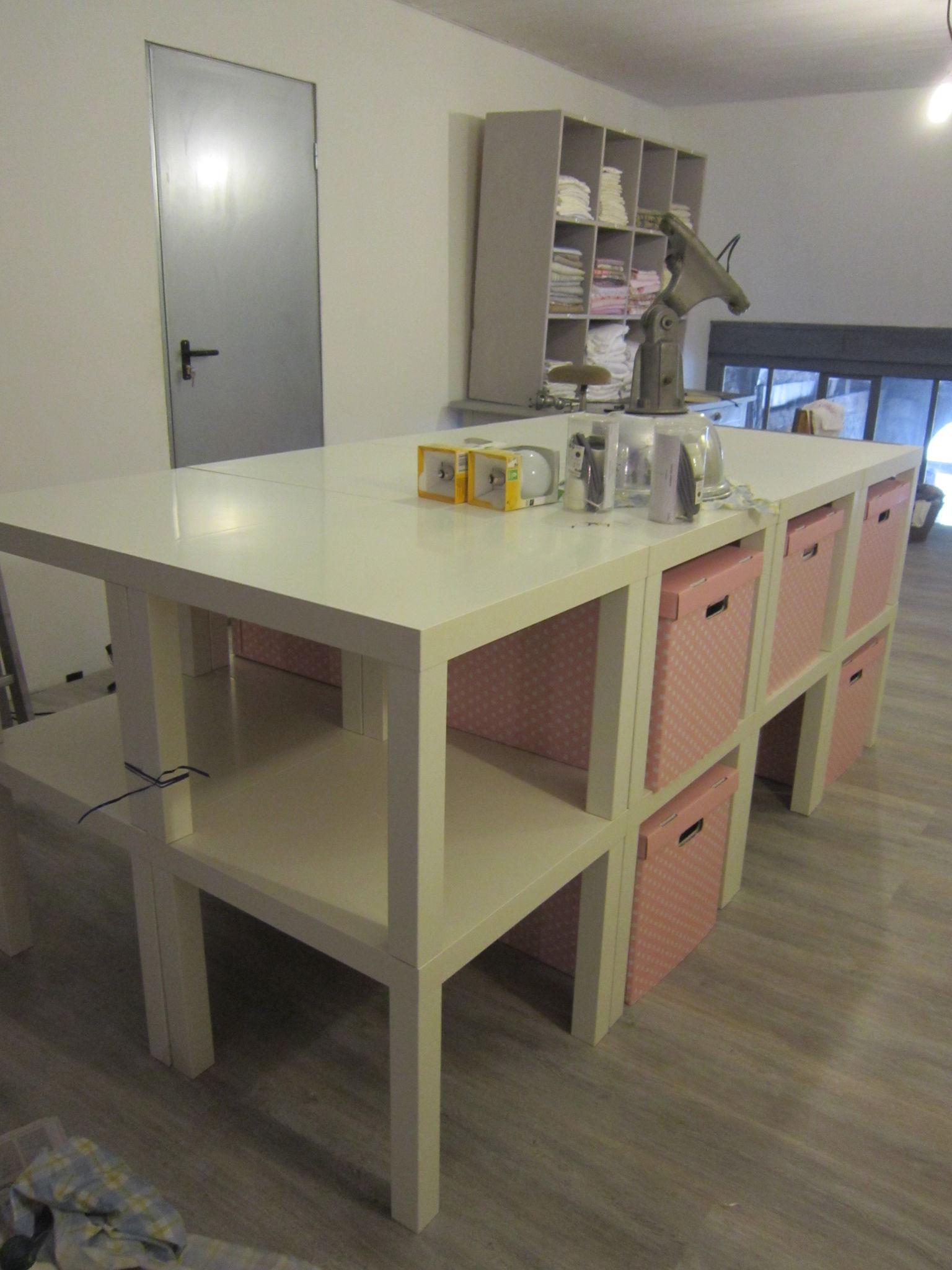 Diy ikea hack mesa auxiliar lack blog tienda - Ikea mesas auxiliares ...