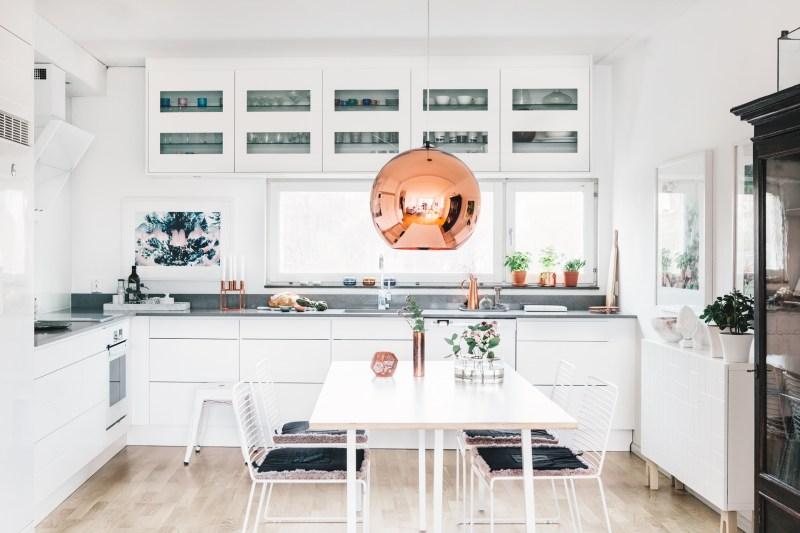 Cocina abierta al salón con vistas - Blog tienda decoración estilo ...