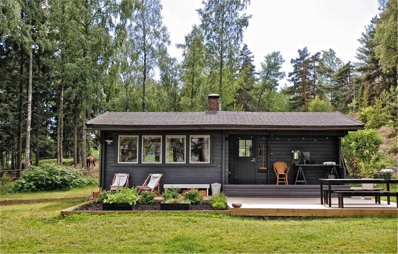 Casa de madera de vacaciones en Finlandia