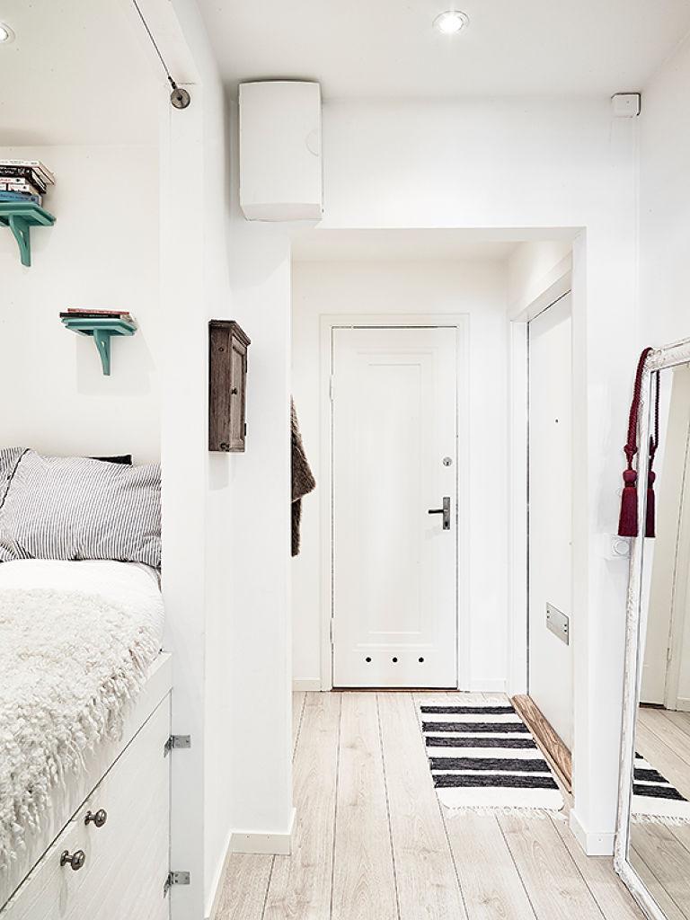 El dormitorio en el pasillo blog decoraci n estilo - Colores pasillos interiores ...