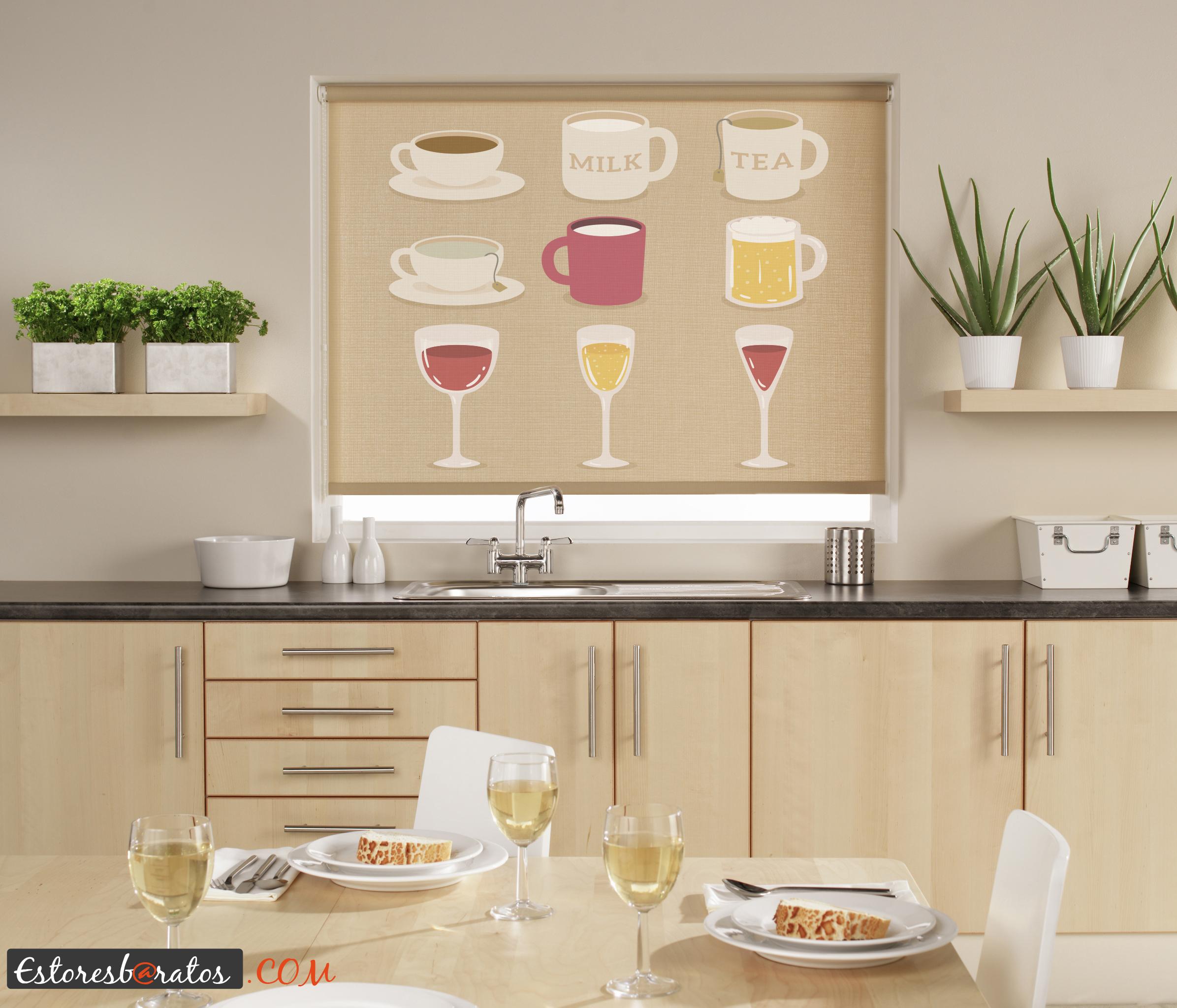 Personalizar tus estancias con estores a medida blog tienda decoraci n estilo n rdico - Estores de cocina ...