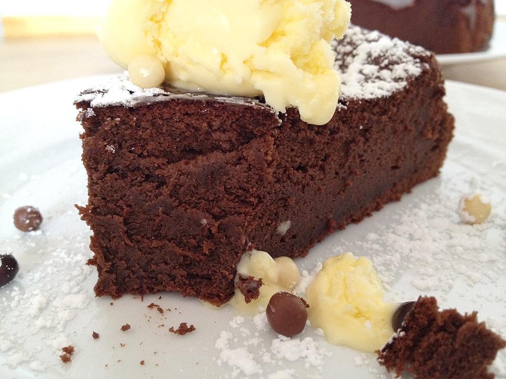 Tarta De Chocolate De Sólo 3 Ingredientes Sin Harina